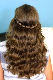 headband twist half up half down hairstyles cute girls hairstyles