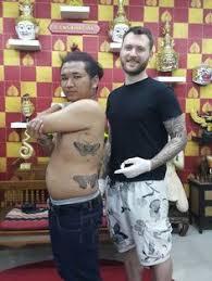 traditional thai bamboo tattoo tattoo thailand
