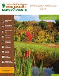 halloween city centerville ohio centerville washington park district fall 2014 news u0026 events by