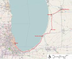 Amtrack Route Map by See Michigan By Train With A Ride On This Beautiful Railroad
