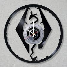 coolest clocks cool skyrim merchandise you u0027ll be lollygagging for discovergeek