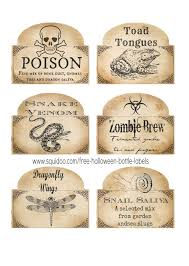 263 best etykiety images on pinterest halloween signs happy