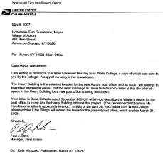 mail carrier cover letter 6287