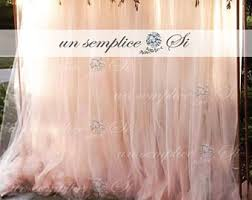 tulle backdrop tulle backdrop etsy