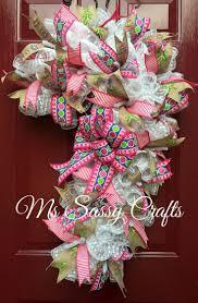 702 best deco mesh crafts images on deco mesh wreaths