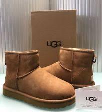 s ugg australia chestnut mini boots ugg australia mini ii sheepskin boots size 7