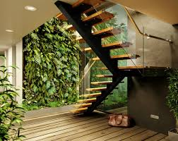 greenhouse like u0027cabin in the woods u0027 features lush vertical