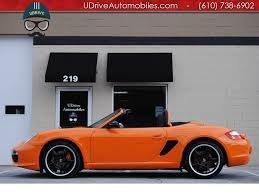 orange porsche convertible 2008 porsche boxster boxster s limited ed 1 of 250 7k miles