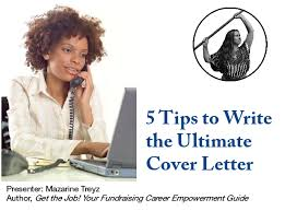 5 tips to write the ultimate fundraising cover letter
