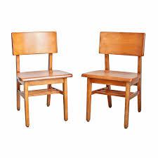 furniture simple teak mid century modern solid maple public