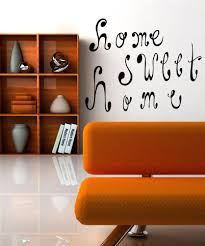 inspirational quotes wall decals inspirational wall stickers vinyl wall decal sticker home sweet home os mb471