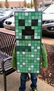 Minecraft Creeper Halloween Costume Easy
