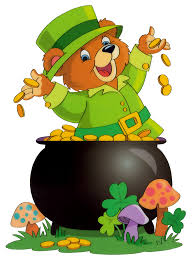 saint patrick bear with pot of gold gallery yopriceville high