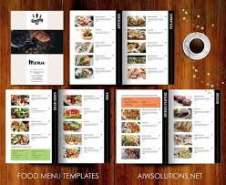 photoshop menu template 30 food drink menu templates design shack