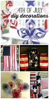 diy 4th of july decorations my life and kids