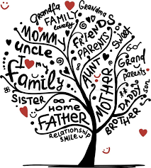 family tree sketch for your design stock vector colourbox