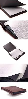 italian leather photo album leather photo album large plain 260 x 340mm photobook