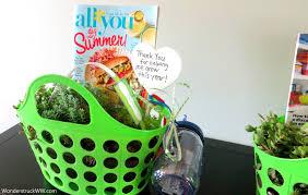 Teacher Gift Basket Teacher Gifts U2013 The End Of Kindergarten