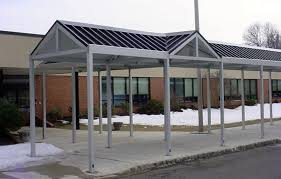 Awning Roof Aluminum Metal Awning System Roll Formed Aluminum U0026 Custom Canopies