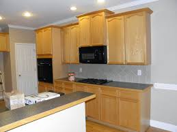 painted cabinets crown molding moulding kitchen trim