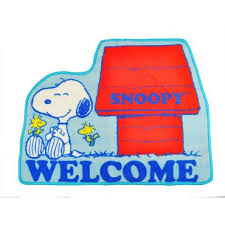 Snoopy Rug Peanuts Snoopy Die Cut Carpet Welcome Doormat Villus Floor Mat Rug