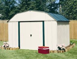 decor vinyl coated sheridan 10x8 feet steel backyard storage