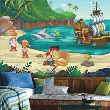 jake land pirates xl wallpaper mural roommates