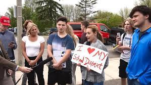 high school yearbook companies protest erupts minn high school yearbook comment saying