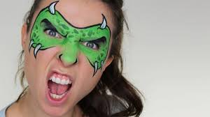 monster mask face painting youtube