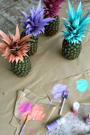 6 spunky pineapple diys for your home