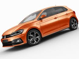 3d model volkswagen polo 2018 r line cgtrader