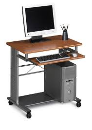 Personal Computer Desk Mayline 945mec Empire Mobile Computer Desk Lower Shelf Supports