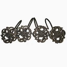 Decorative Shower Curtain Rings Picture 3 Of 35 Decorative Shower Curtain Rings New Black Shower