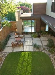 Patio Rocks Concrete Patio Ideas For Small Backyards With Round Table And