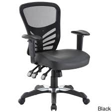 articulate mesh office chair with fully adjustable black vinyl