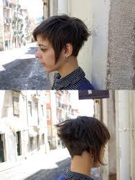 short hair asymmetric haircut by néria www hairport pt flickr