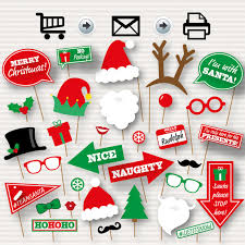christmas photo booth props christmas photo booth printable props christmas party photo