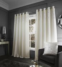 Black Eyelet Curtains 66 X 90 Glitzy Eyelet Curtains 66