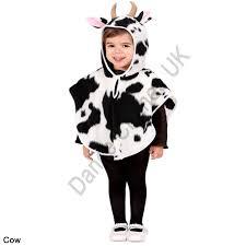 Halloween Costumes 1 2 Children U0027s Animal Ponchos Hooded Unisex Fancy Dress Costume 1 2