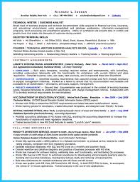Technical Business Analyst Resume Sample Resume For Business Analyst Insurance
