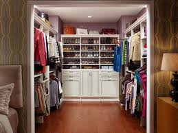 How To Organize A Small Bedroom by Wire Closet Shelving And Organization Systems Hgtv