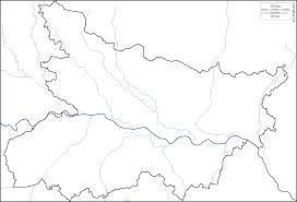 Physical Blank Map Of India by Bihar Free Map Free Blank Map Free Outline Map Free Base Map