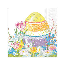 easter napkins ihr decorative easter egg paper cocktail napkins paperstyle