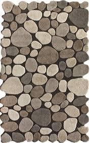 Pebble Rugs Amazon Com Nuloom Natural Hand Tufted Pebbles Area Rug 7 U0027 6