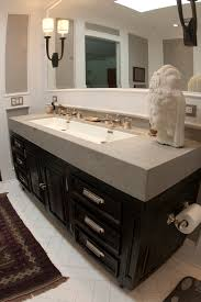 Trough Sink For Bathroom by Undermount Trough Sink Bathroom Modern With Double Sinks
