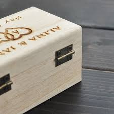 box personalized aliexpress buy rustic wedding ring bearer box personalized