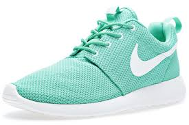 rosch runs nike roshe run mint green sneakers addict