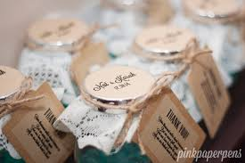 wedding giveaways jars diy wedding giveaways quaint quinn