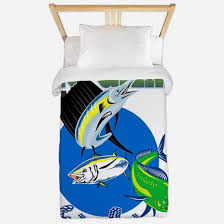 Fish Duvet Cover Fish Mahi Mahi Bedding Fish Mahi Mahi Duvet Covers Pillow Cases