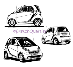 car mercedes png smart car mercedes hand painted sketch vector clipart svg eps